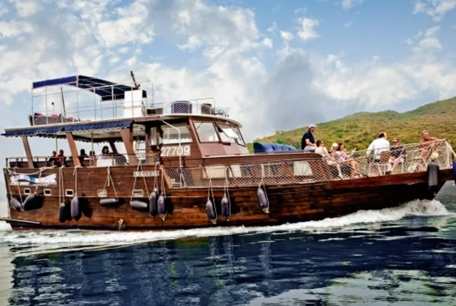 Charter A Junk and Sail Around the Rugged Coastline