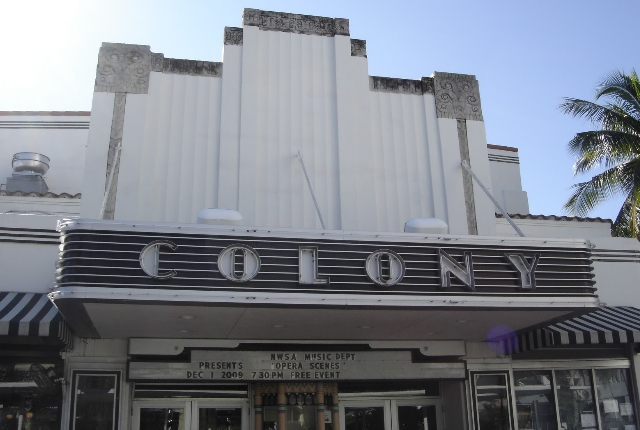 Colony Theatre by R.A. Benjamin