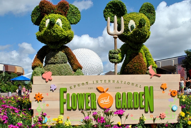 Epcot International Flower & Garden Festival – Orlando, Florida