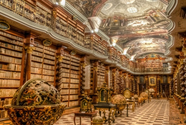 Examine Ancient Tomes At The Magnificent Libraries At Clementinum And Strahov Monastery