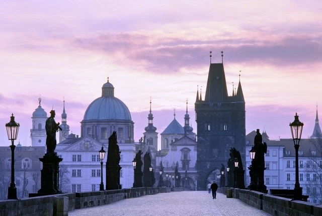 Gaze At the Impressive Baroque Statues That Line the Charles Bridge