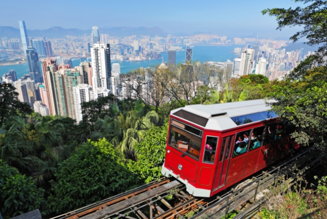 Gaze at the Stunning Skyline from Atop Victoria's Peak
