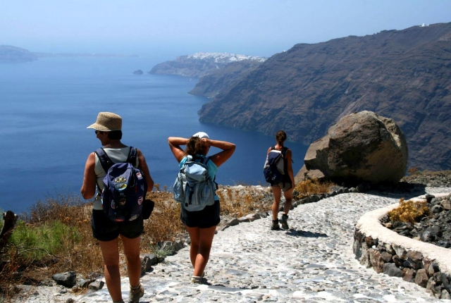 Hike The Fira Trail