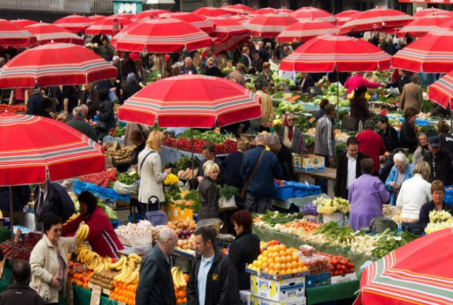 Immerse Yourself In The Colorful Markets
