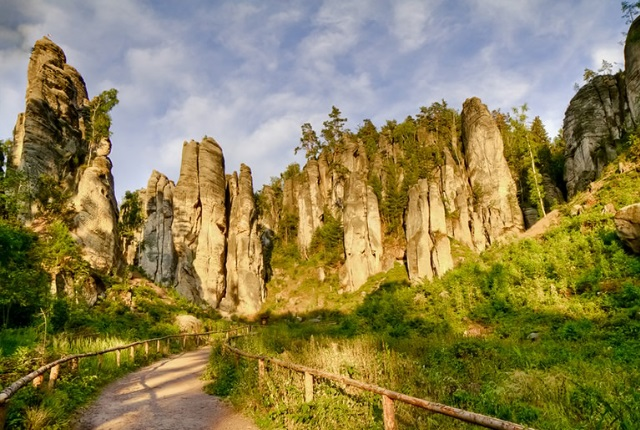 Marvel At The Natural Beauty Of Bohemian Paradise