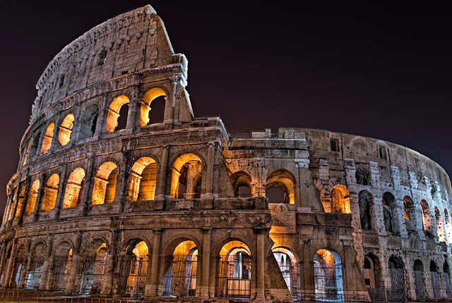 The Colosseum, Rome(Italy)
