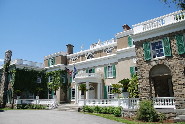 The Franklin D. Roosevelt Home