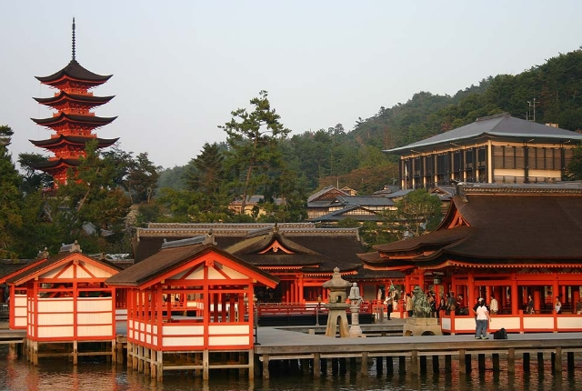 The Island Shrine of Itsukushima