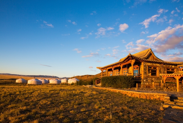 Three Camel Lodge, Mongolia