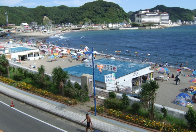 Uchiura Beach in Kominato