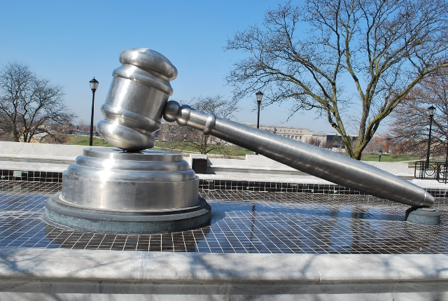 Worlds Largest Gavel