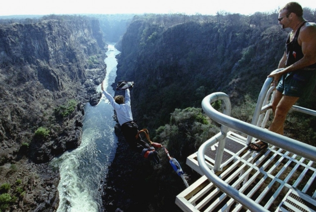 Bungee Jump Off The Victoria Falls