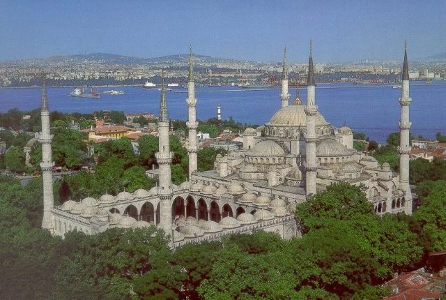 Picturesque Blue Mosque