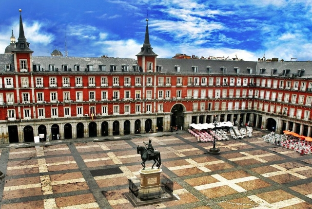 Plaza Mayor, Spain