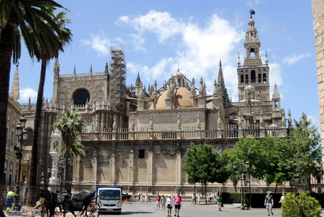 Seville Cathedral and Alcazar