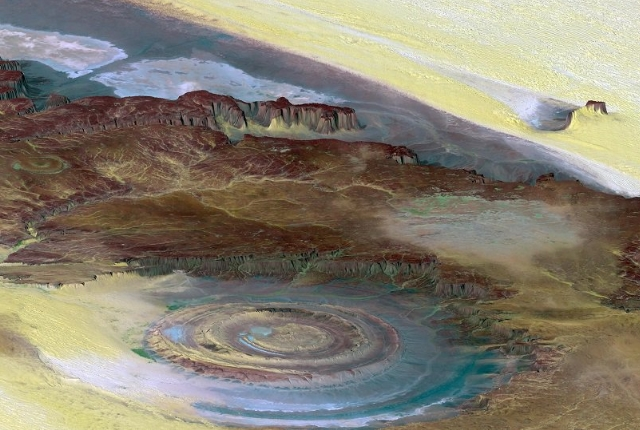 The Richat Structure, Africa