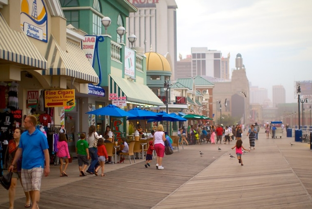 Atlantic City And The Boardwalk