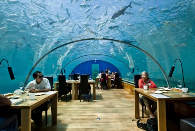 Dine In An Underwater Restaurant