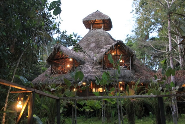 Sacha Lodge, Amazon