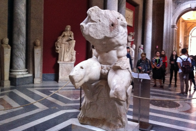 See Artwork In The Vatican Museum