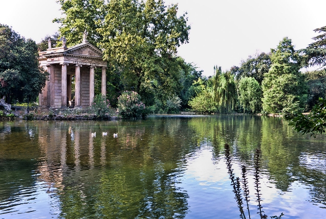 See The Garden At Villa Borghese