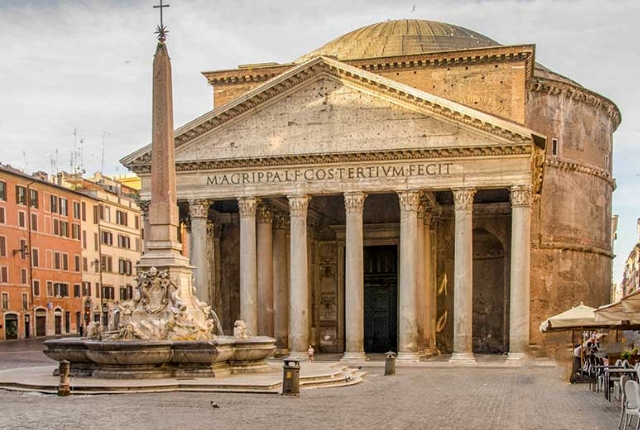 See The Temple At Pantheon