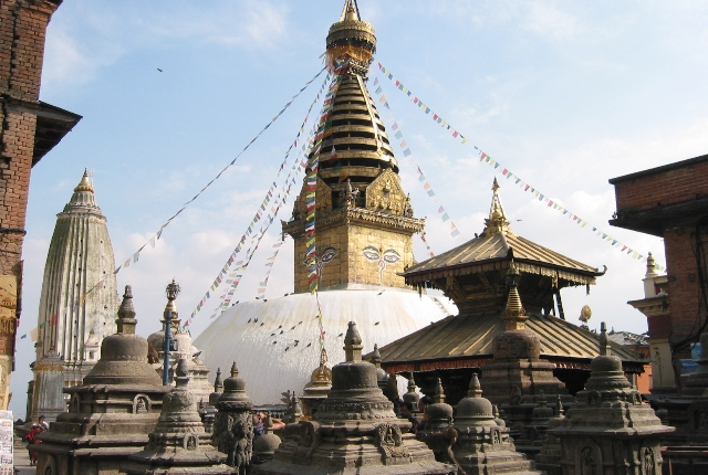 Swayambhunath Or The Monkey Temple