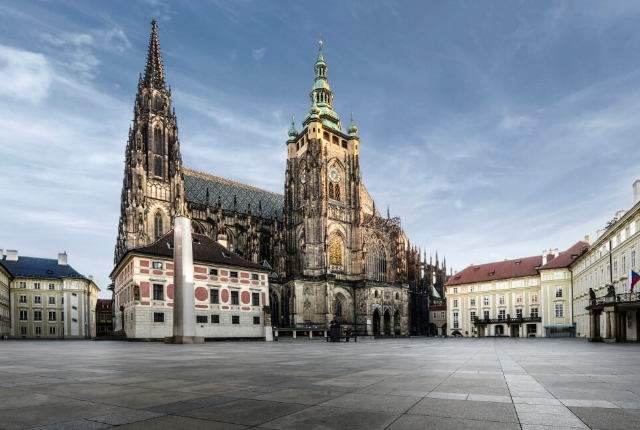 Visit Galleries And Museums In The Prague Castle