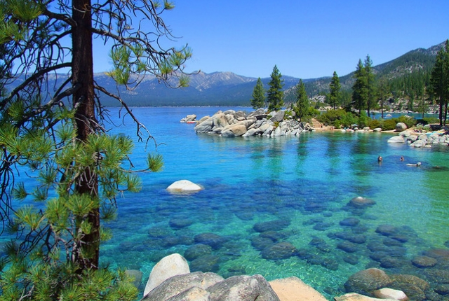 Visiting Lake Tahoe in Sierra Nevada