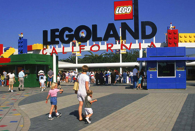 Visiting Legoland in Carlsbad