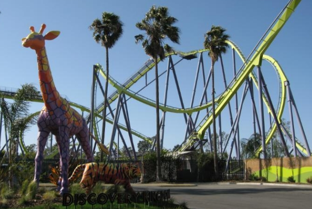 Visiting Six Flags Discovery Kingdom in Vallejo