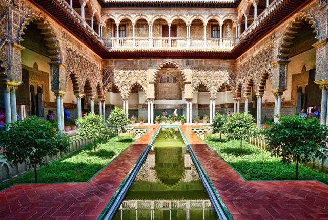 Explore the Alcazar of Seville