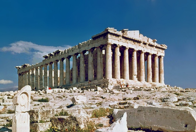 See Architecture In The Parthenon