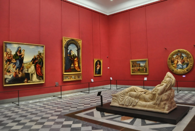 See Paintings In Uffizi Gallery