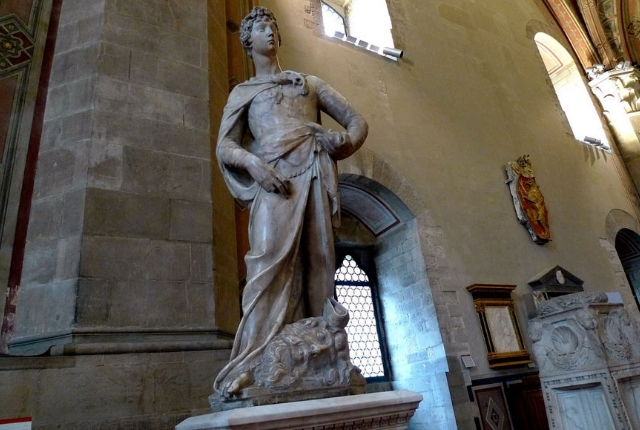 See Sculpture In Bargello Museum