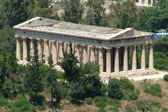 See Temples At The Agora