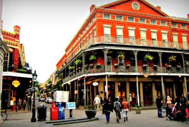 Take a walk in the French Quarter