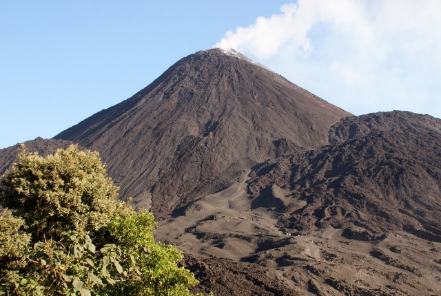 The Great Active Volcano Of Pacaya