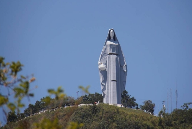 The Massive statue of Virgin Mary