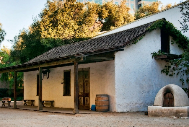 The Peralta Adobe