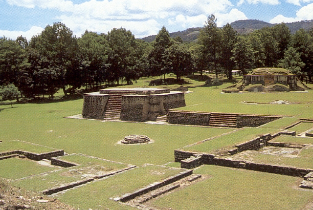 The Ruins Of Iximche