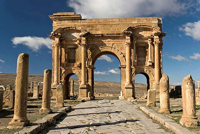 The Ruins Of Timgad