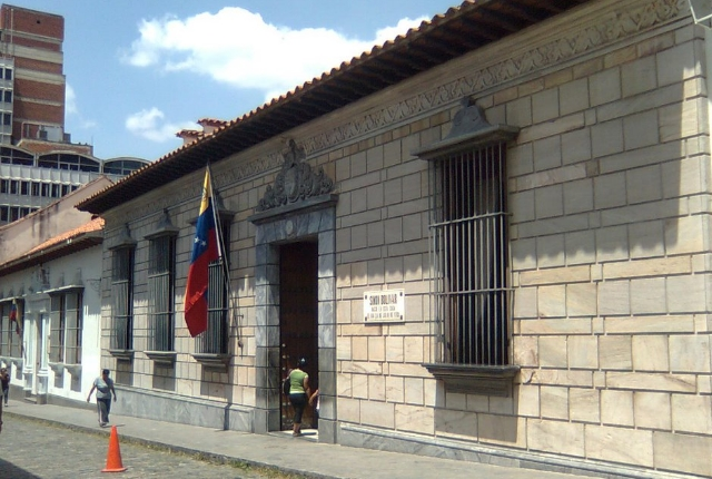 The birth place and childhood home of Simon Bolivar