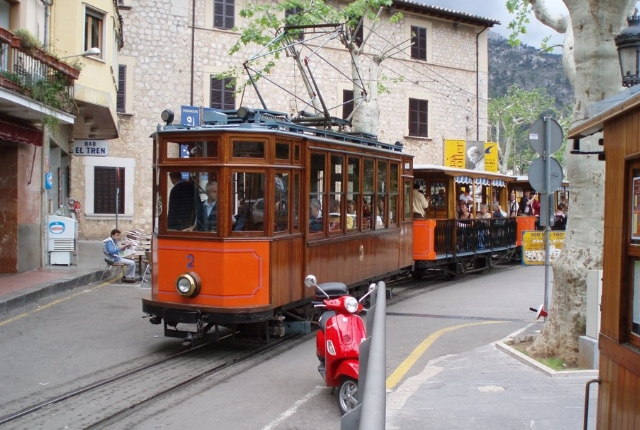 Travel Through Soller Railway