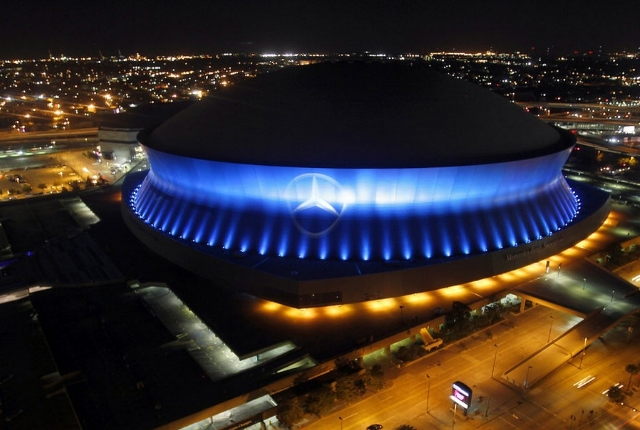 Visit the Mercedes Benz Superdome