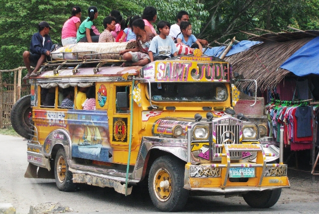 What About A Ride In Jeepney