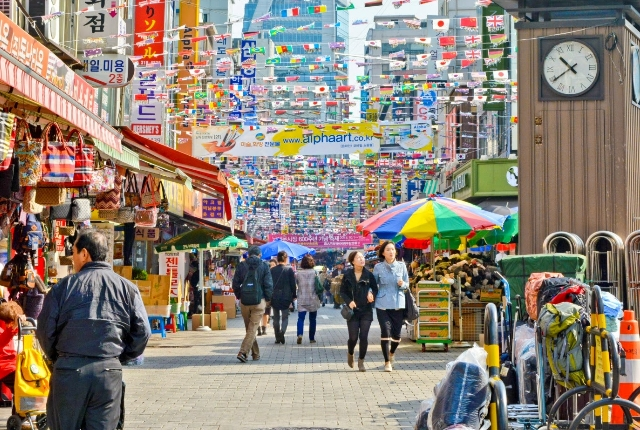 Check Out Its Namdaemun Market