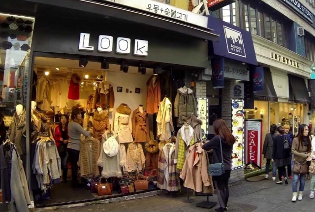 Do Shop At Myeongdong