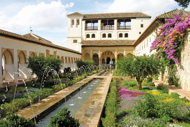 Enjoy Time In The Generalife Garden