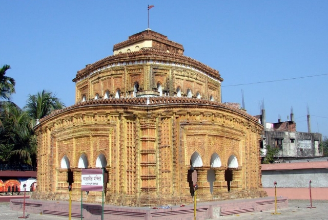 Terracotta Temple Of Kantaji or Kantajew